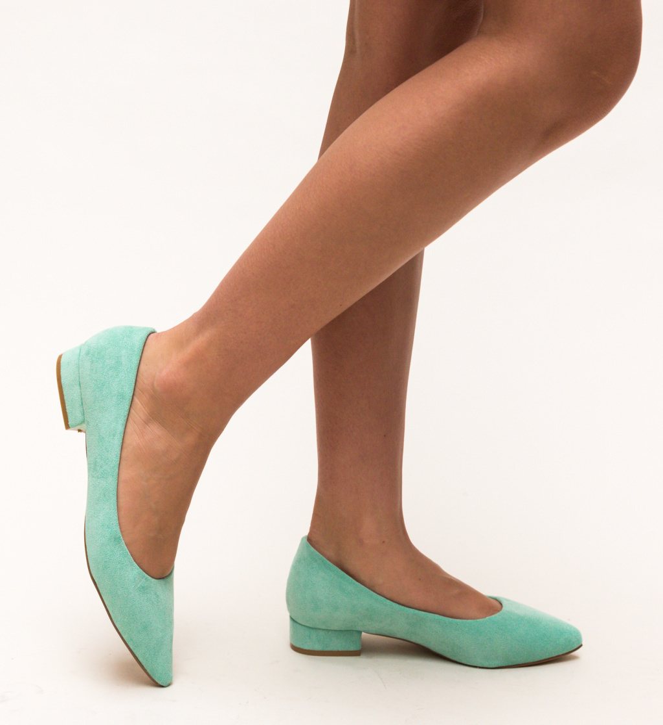 Pantofi Niam Verzi imagine
