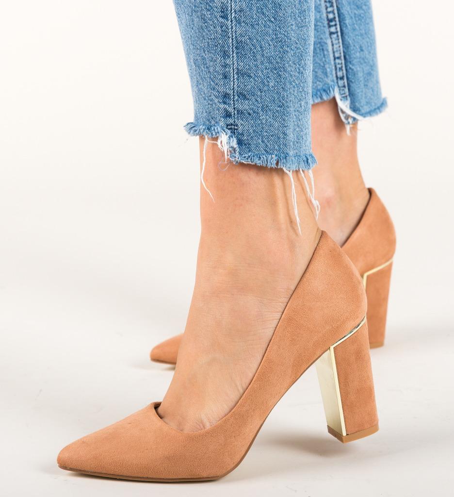 Pantofi Peonix Roz