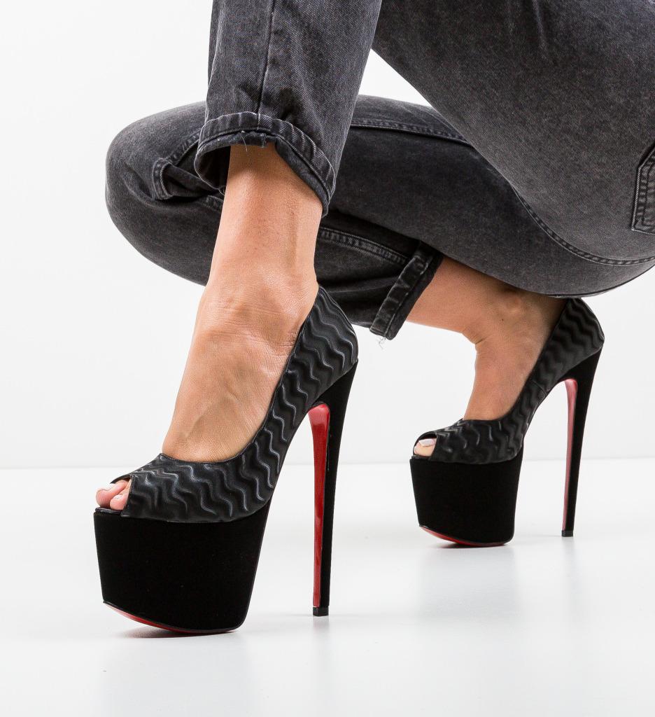 Pantofi Quker Negri 4