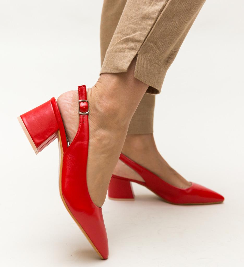 Pantofi Roadster Rosii
