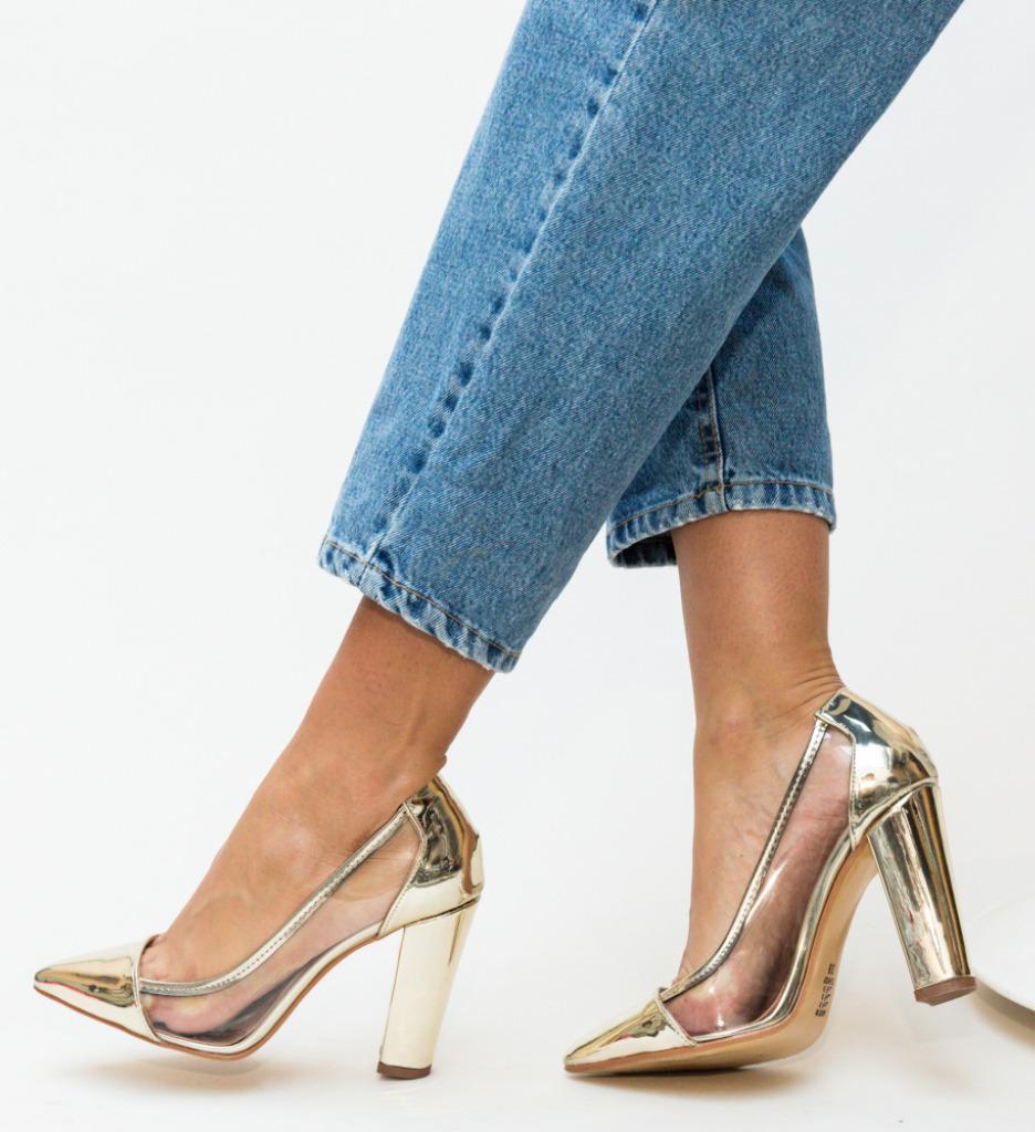 Pantofi Seneha Aurii