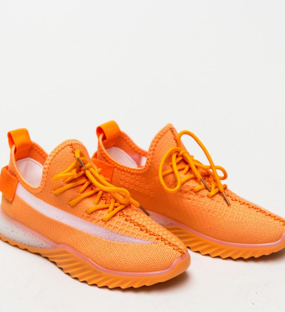 Pantofi Sport Adaline Portocali
