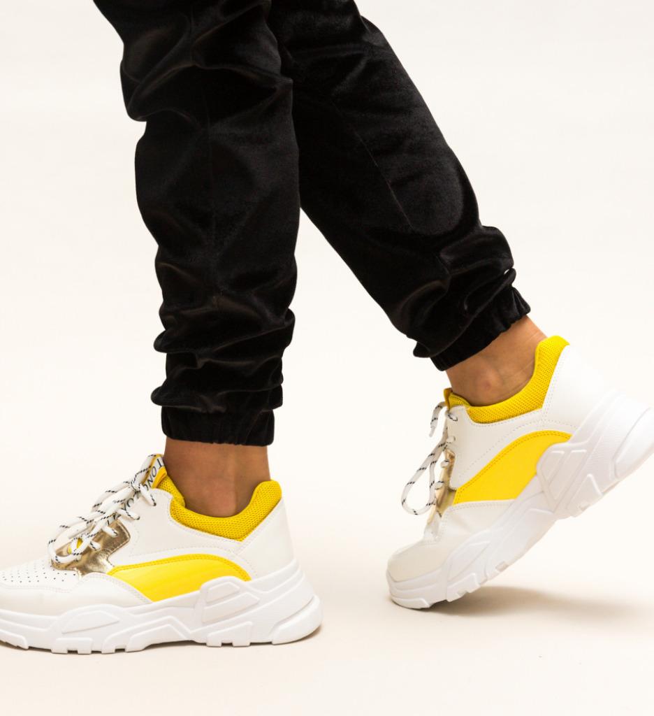 Pantofi Sport Arlon Galbeni