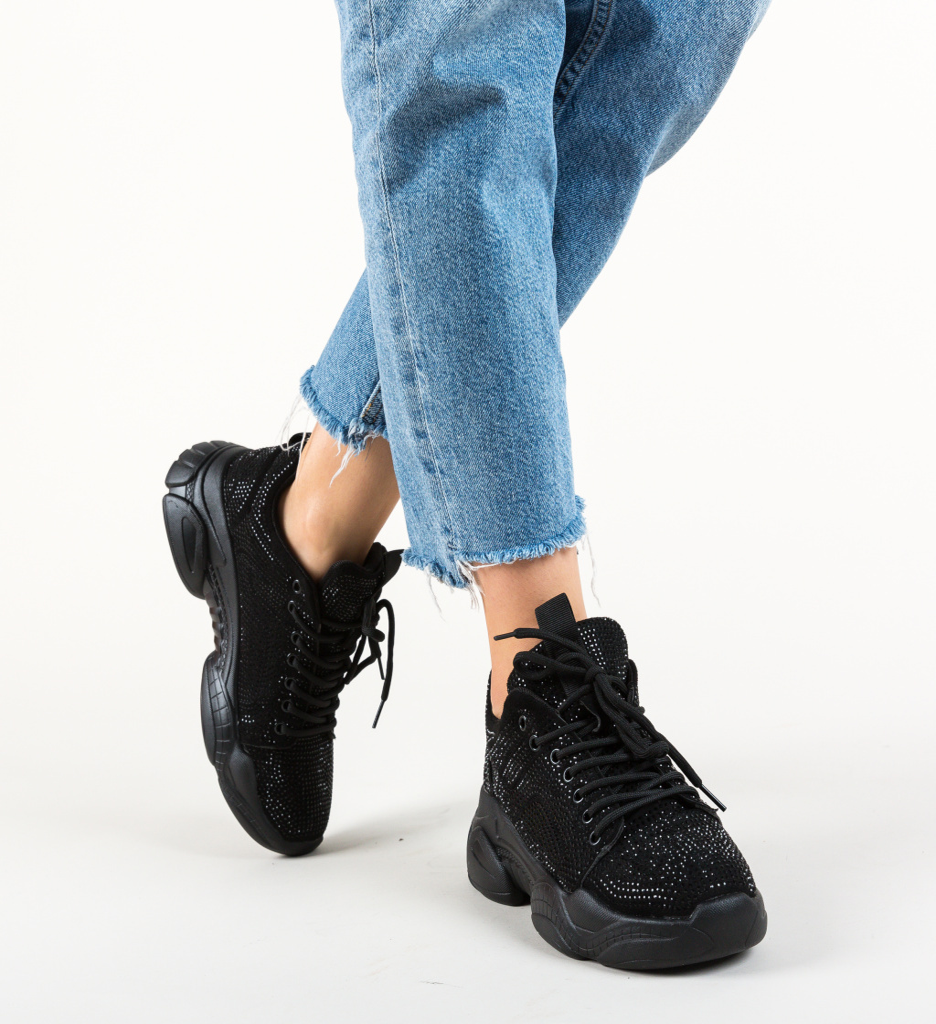 Pantofi Sport Eureka Negri 2