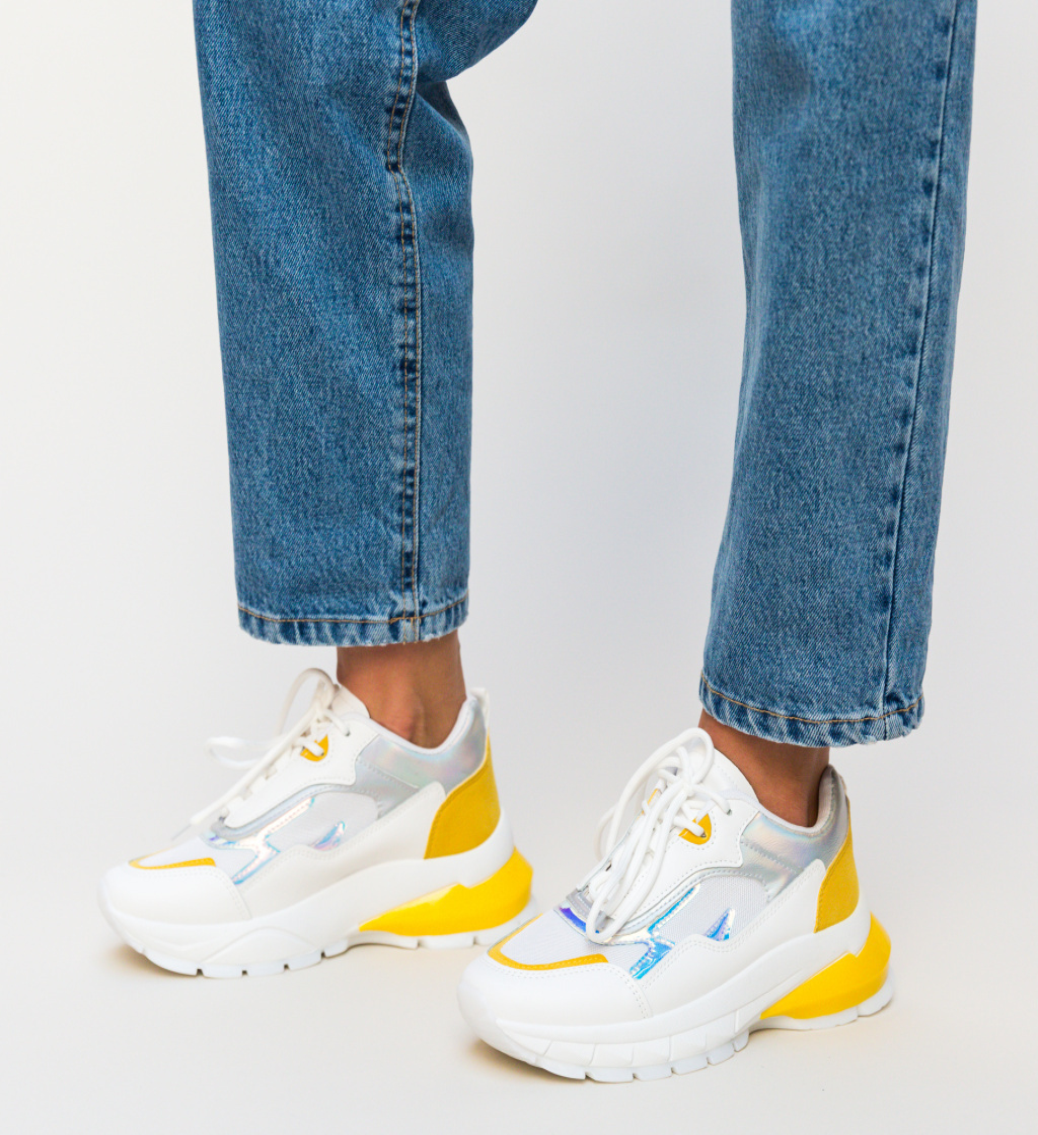 Pantofi Sport Husera Albi 2
