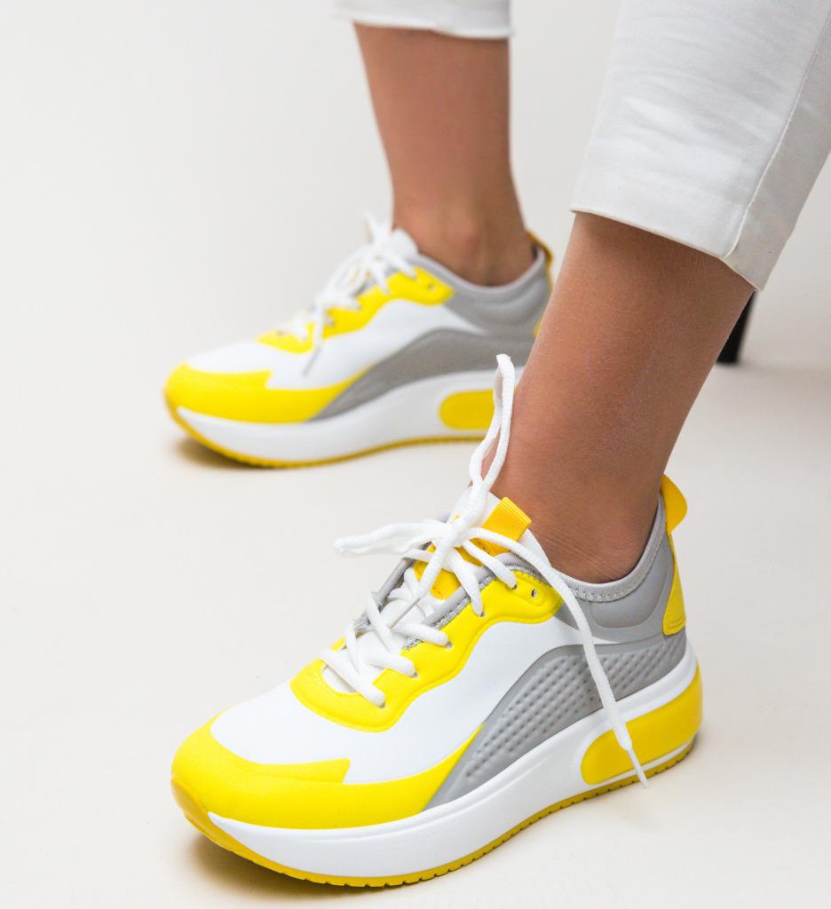 Pantofi Sport Legalize Galbeni