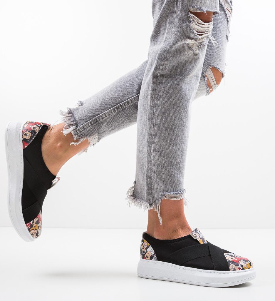 Pantofi Sport Partica Negri 2