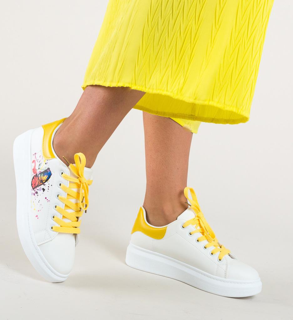 Pantofi Sport Pejah Galbeni