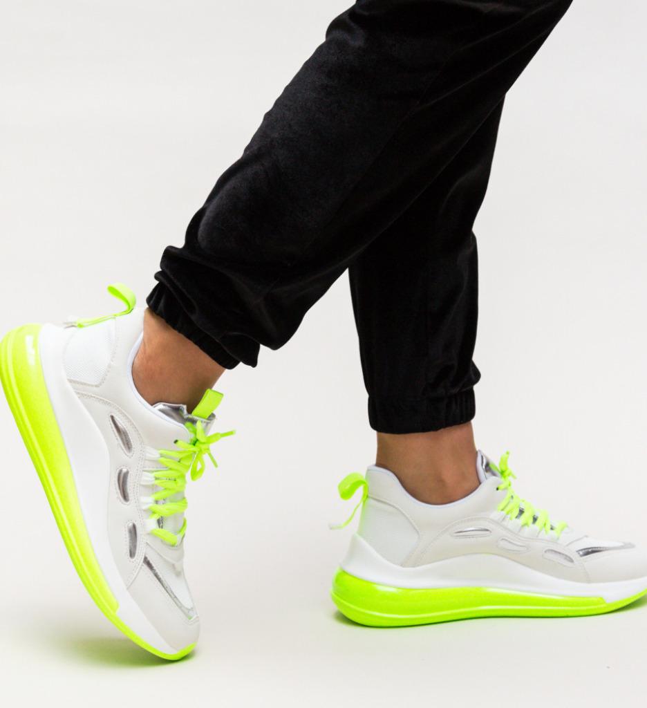 Pantofi Sport Rimen Verzi