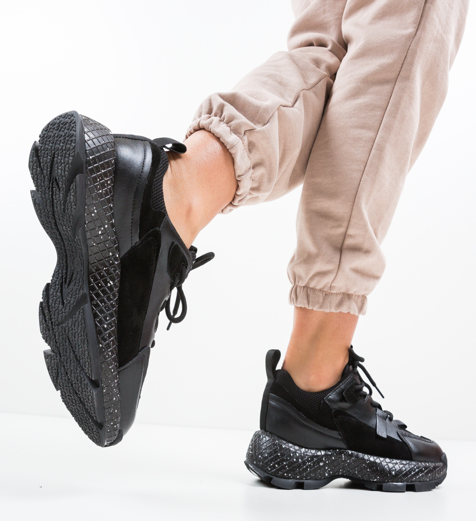 Pantofi Sport Senar Negri