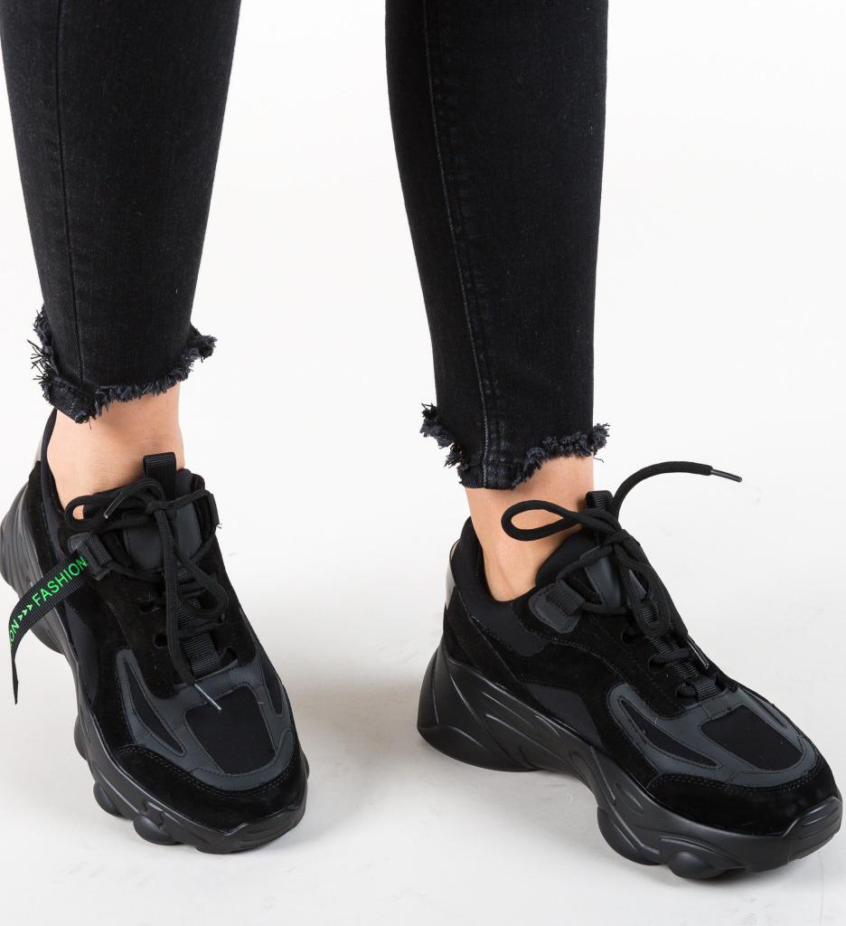 Pantofi Sport Solis Negri 2