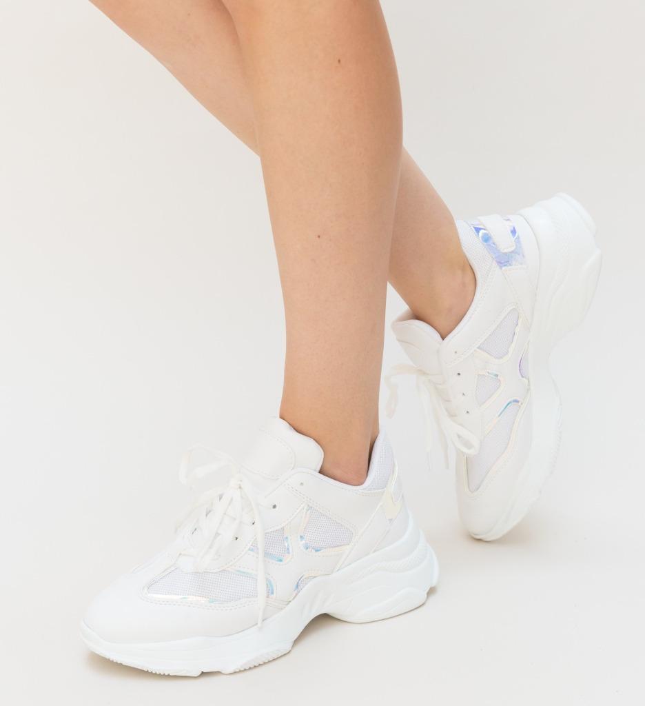 Pantofi Sport Stem Albi