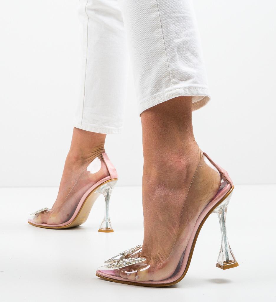 Pantofi Steliz Roz 2