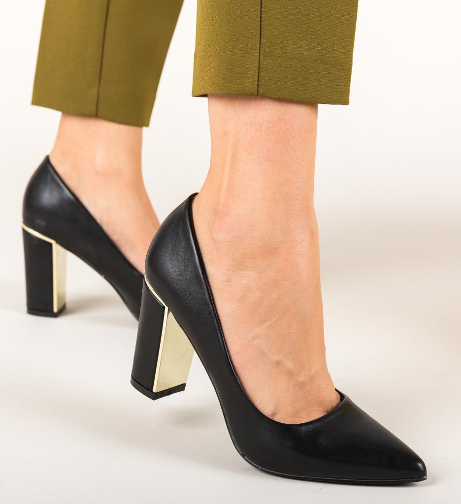 Pantofi Tiramis Negri