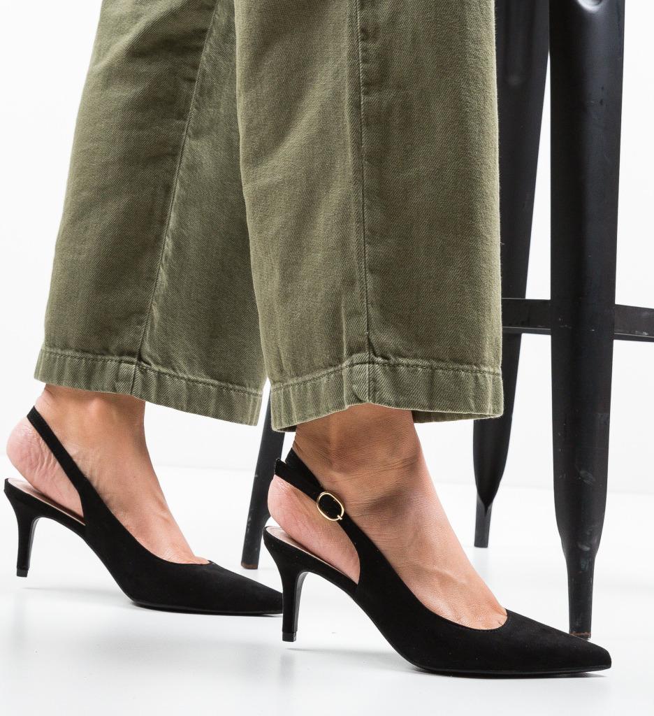 Pantofi Umaiz Negri