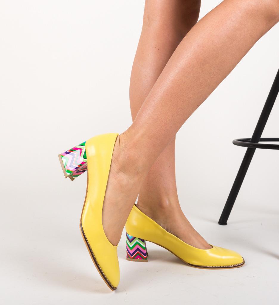 Pantofi Vardola Galbeni