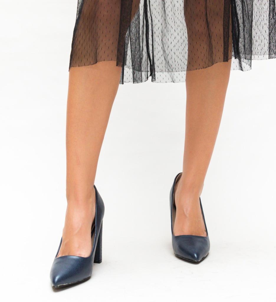 Pantofi Yorker Bleumarin