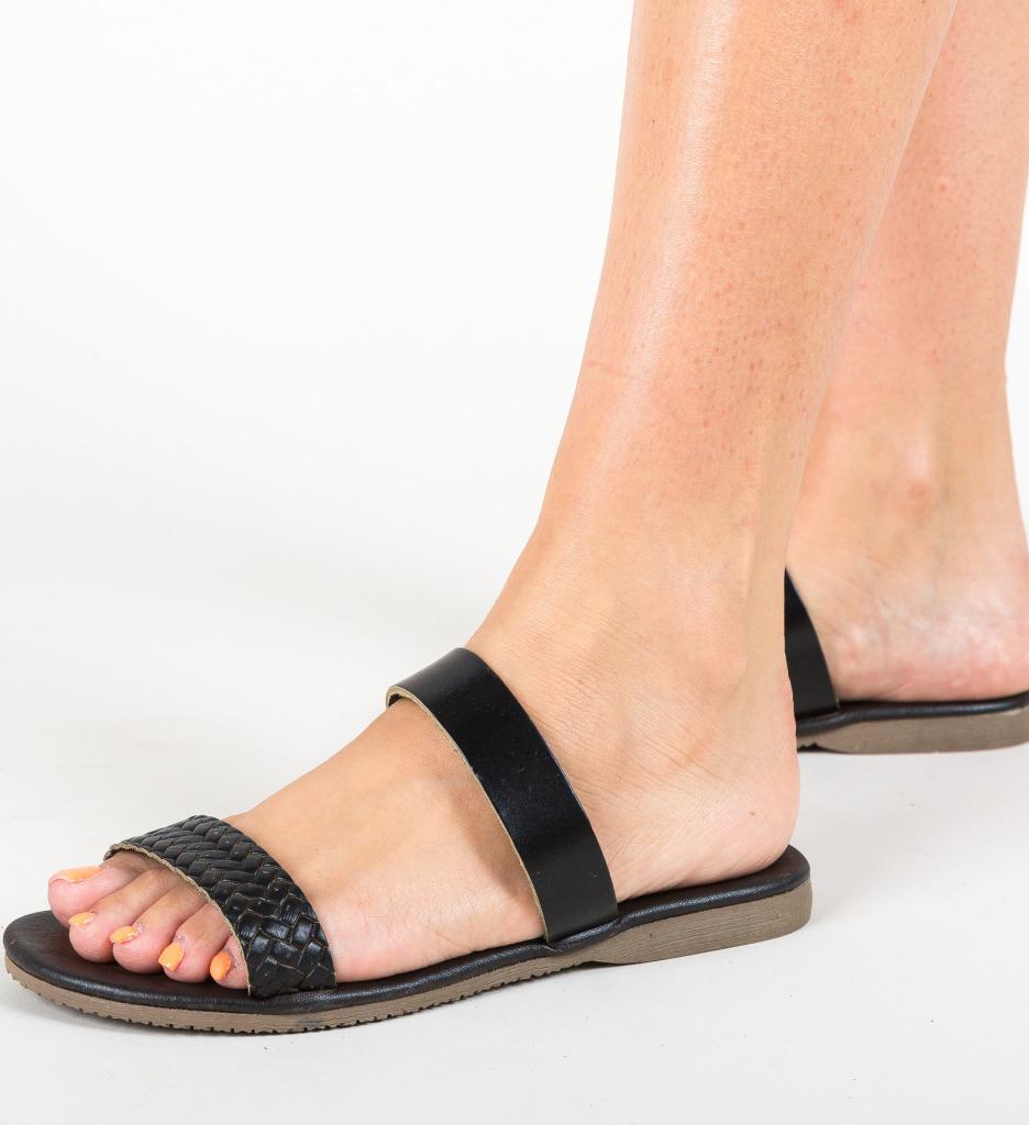 Papuci Cadle Negri imagine