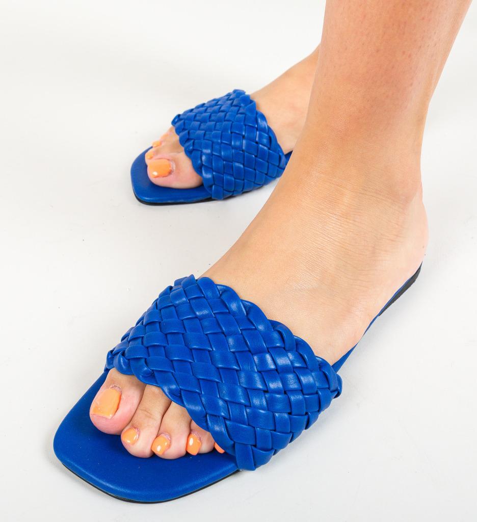 Papuci Peoria Albastri
