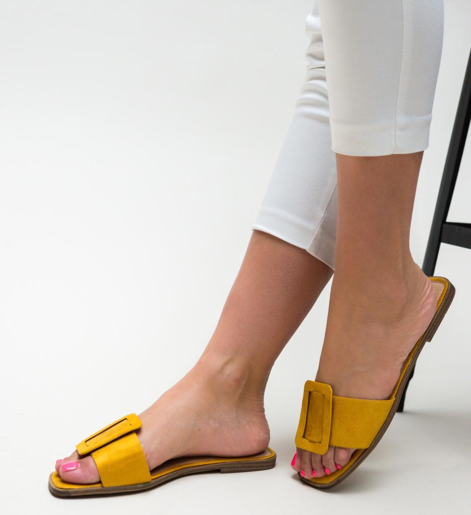 Papuci Trufles Galbeni