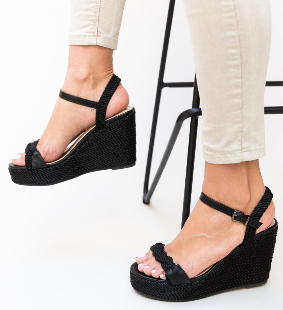 Sandale Aila Negre