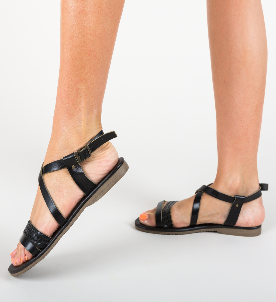 Sandale Bardolia Negre imagine