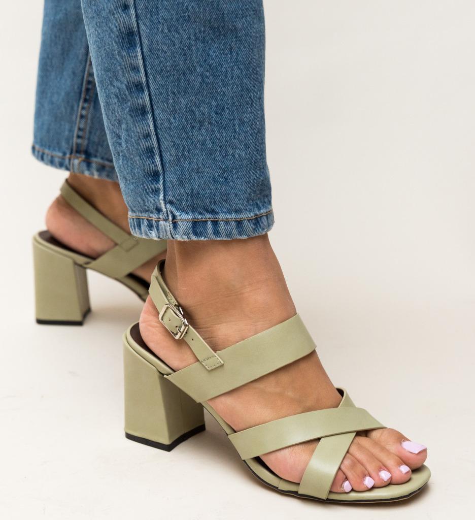 Sandale Carpatien Verzi