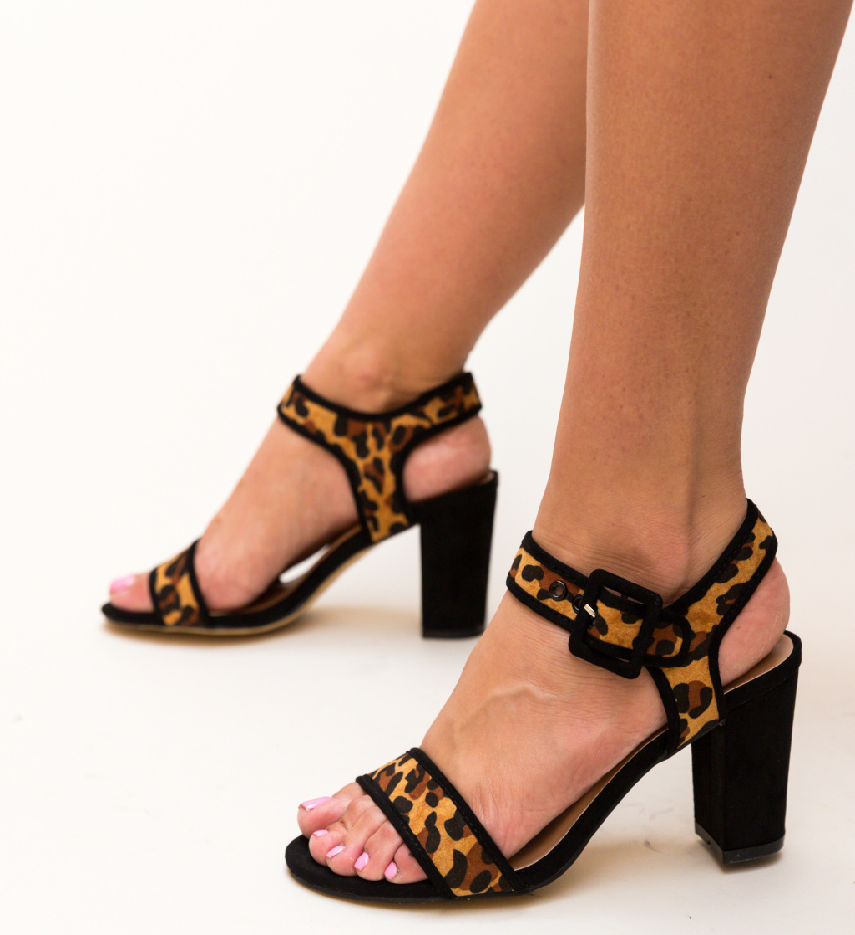 Sandale Clindar Leopard