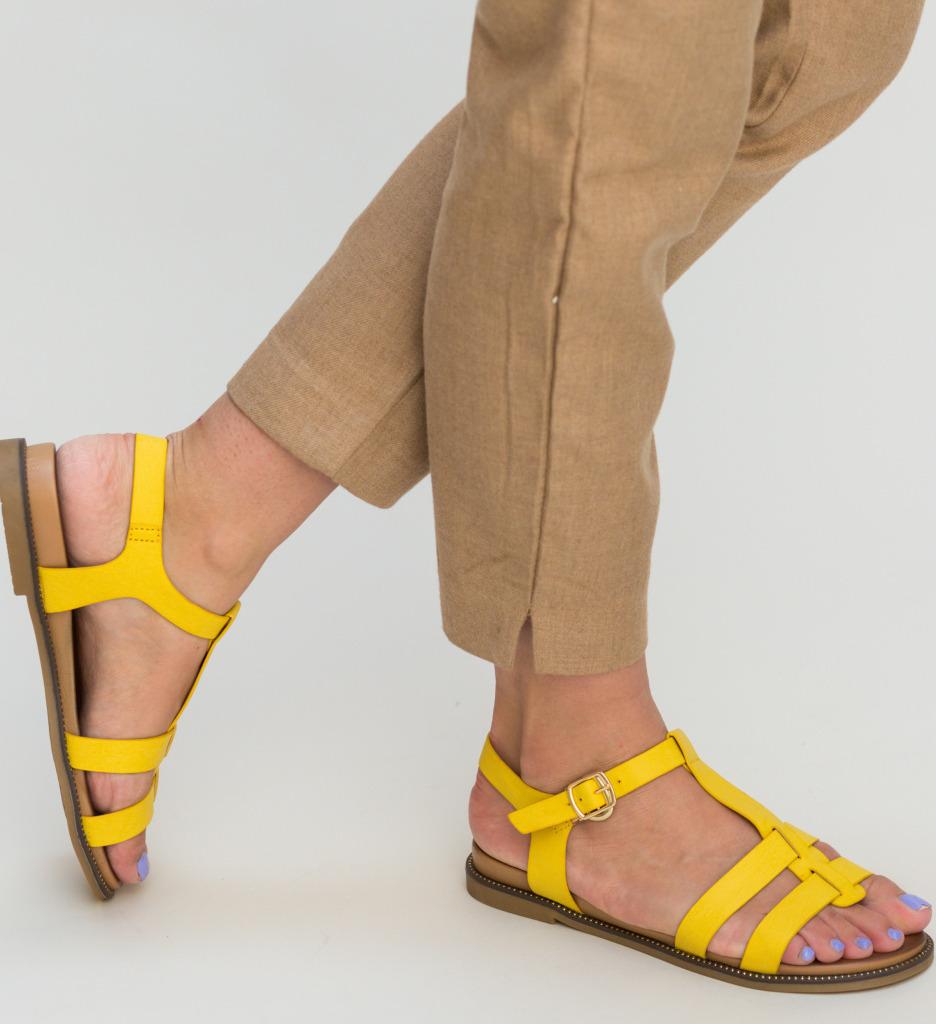 Sandale Cutur Galbene