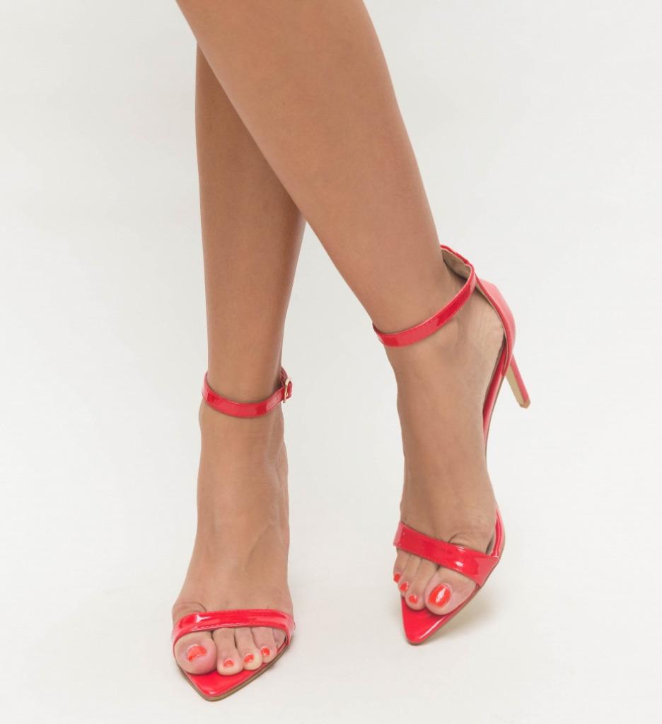 Sandale Elvira Rosii