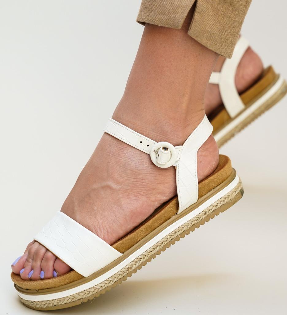 Sandale Lute Albe