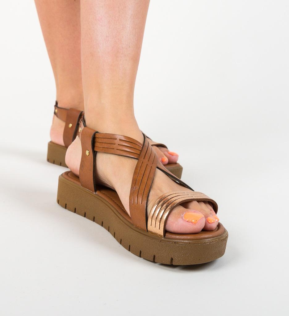Sandale Megaso Camel