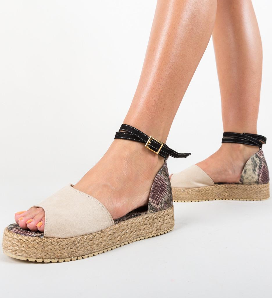 Sandale Monravia Bej