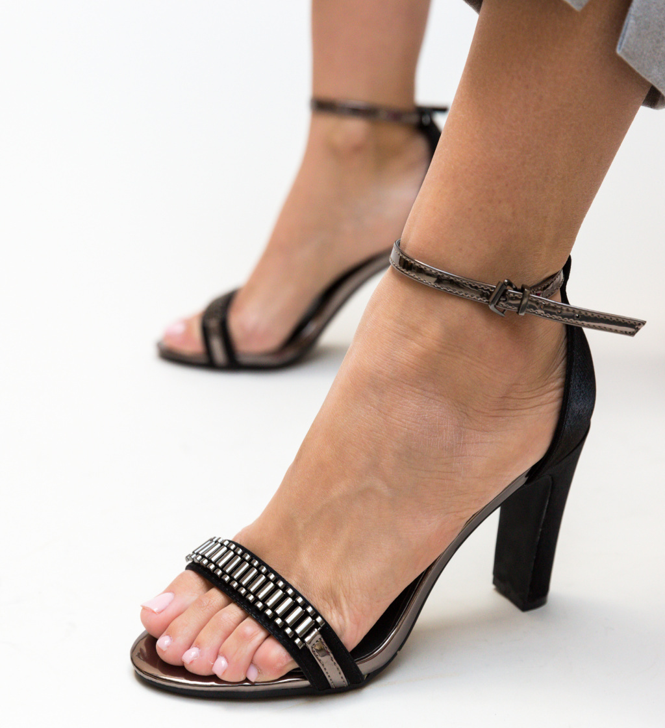 Sandale Oliv Negre