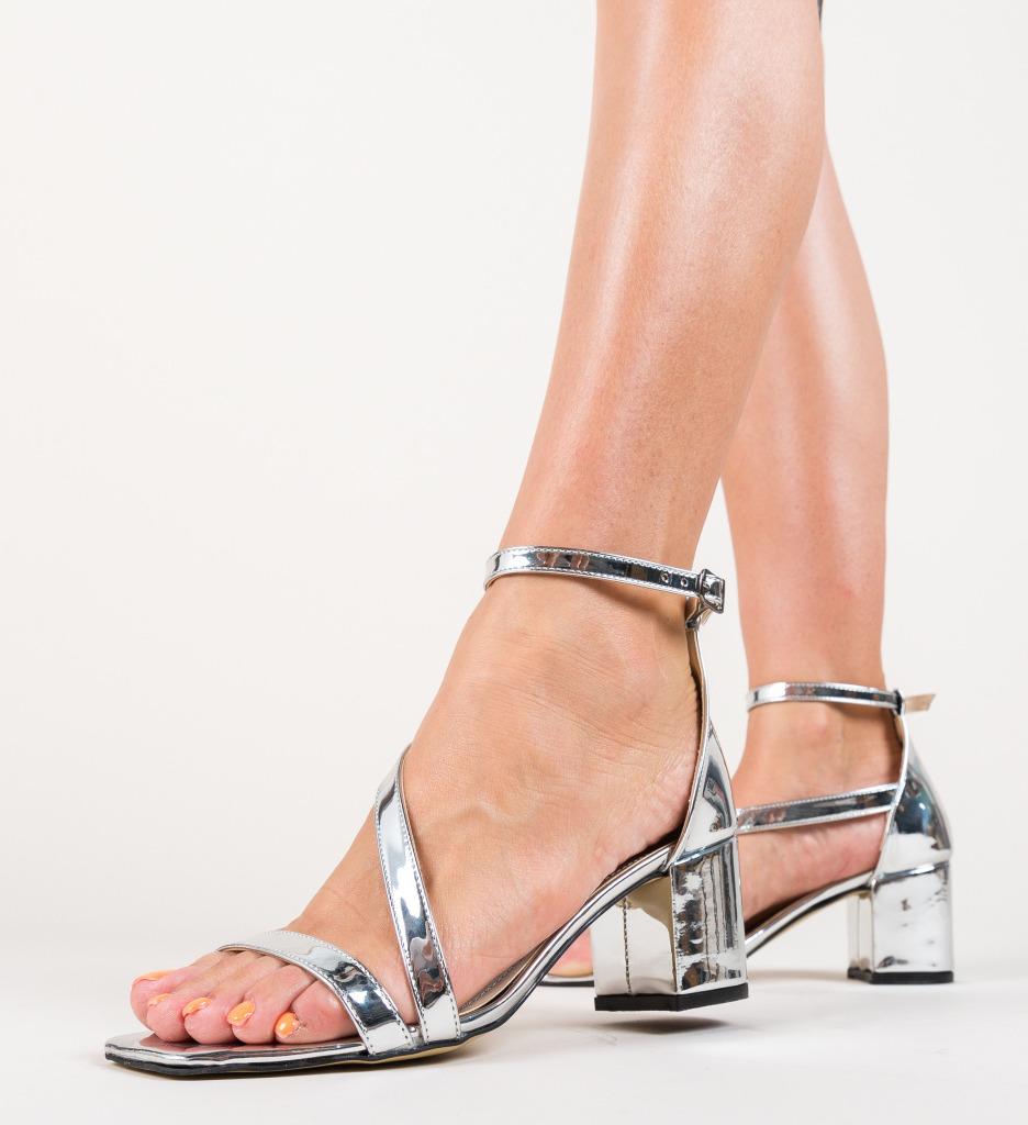 Sandale Piruna Argintii