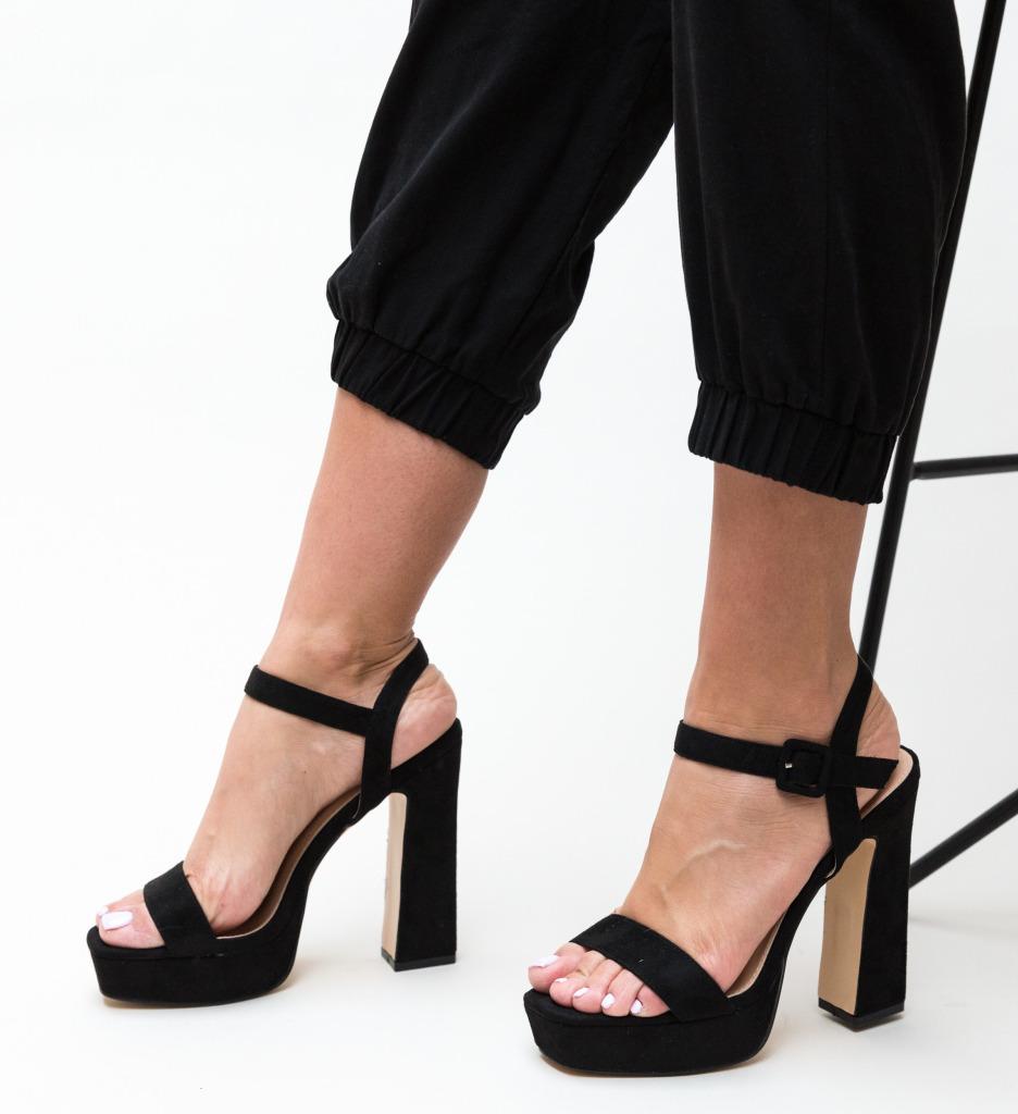 Sandale Poste Negre
