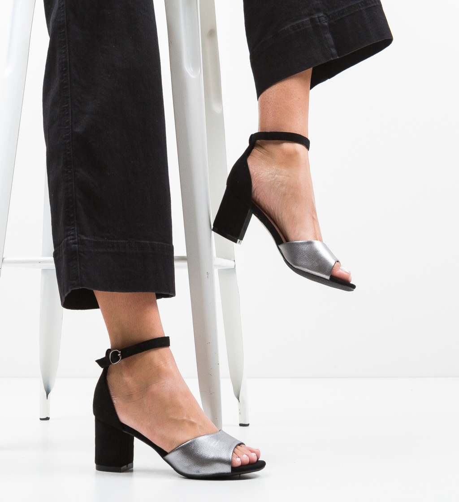 Sandale Stott Gri