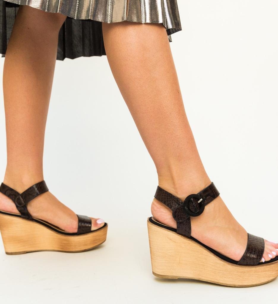 Sandale Zaki Negre 2