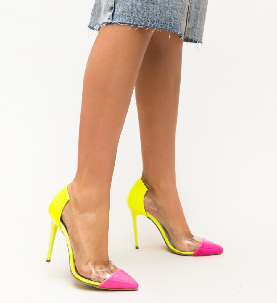 Pantofi Abel Galbeni
