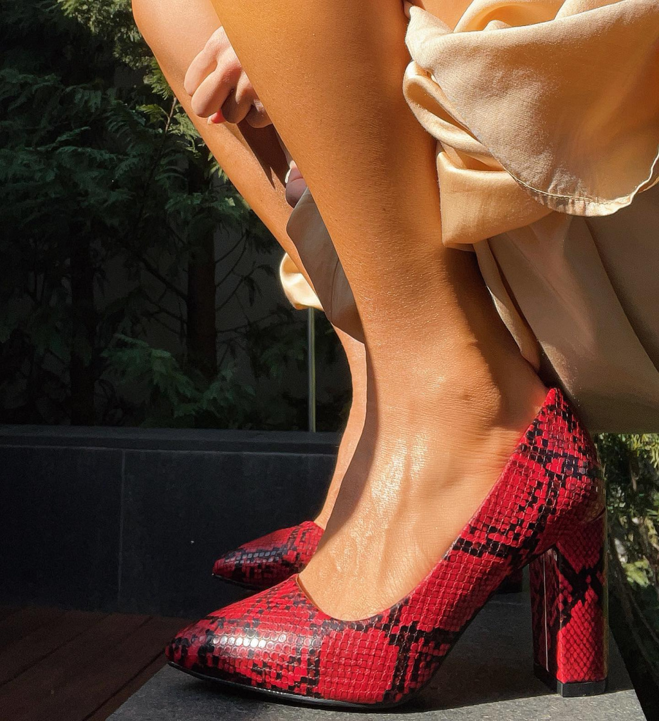 Pantofi Amal Rosii