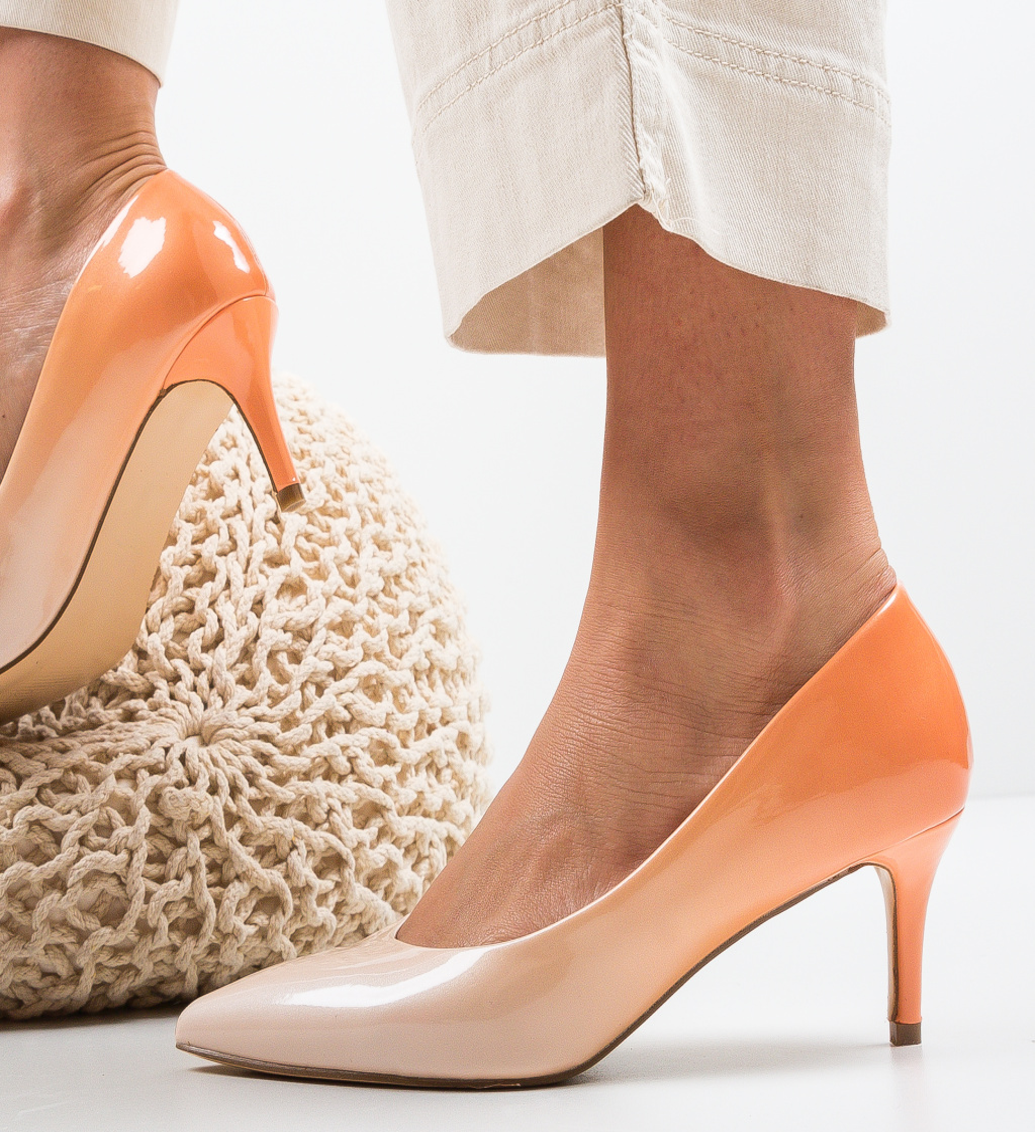 Pantofi Bohe Nude