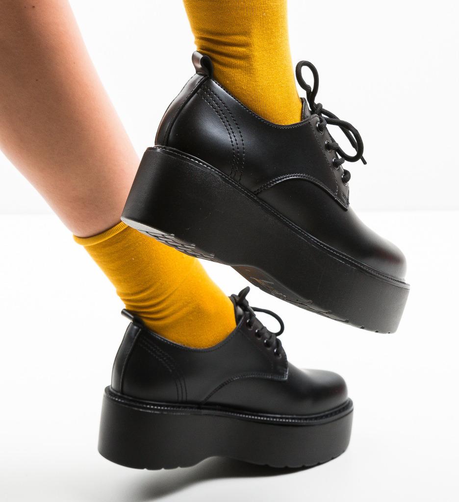 Pantofi Casual Alay Negri