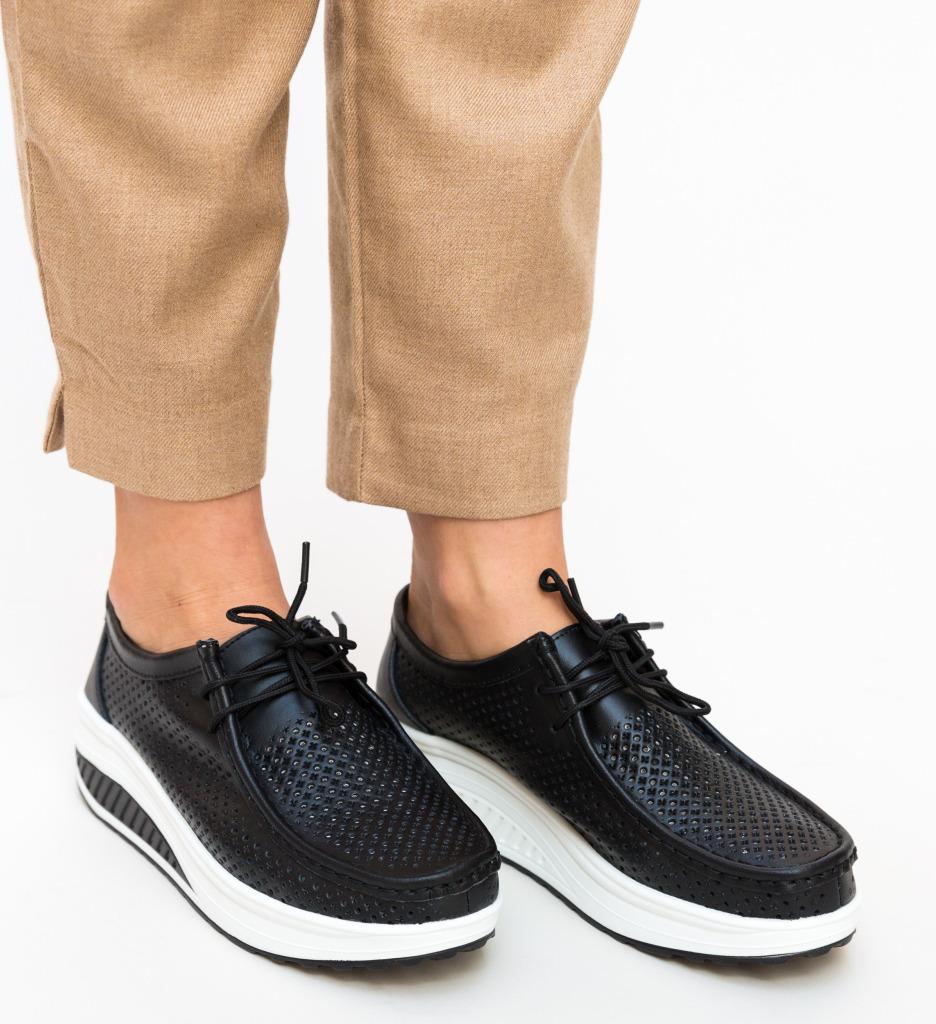 Pantofi Casual Baroco Negri