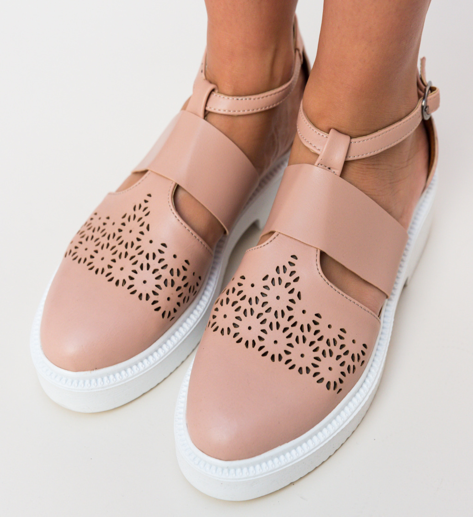 Pantofi Casual Bili Bej