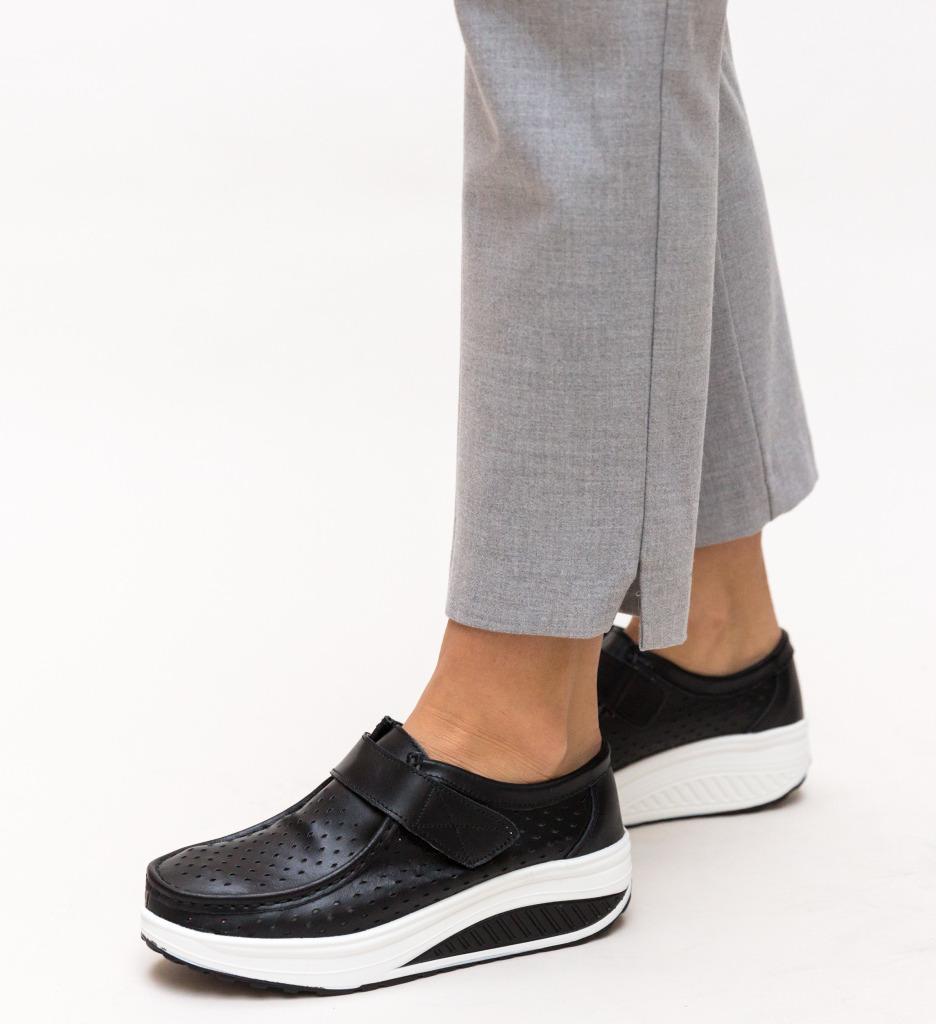 Pantofi Casual Bozta Negri