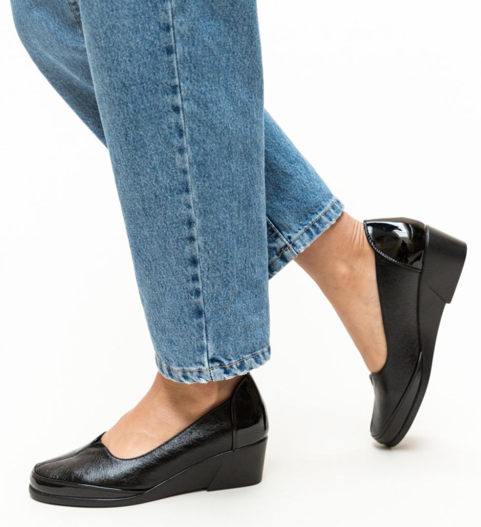 Pantofi Casual Bush Negri