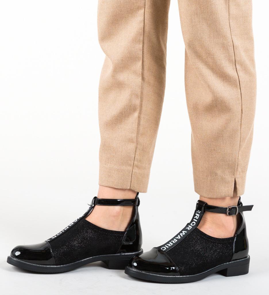 Pantofi Casual Cecily Negre