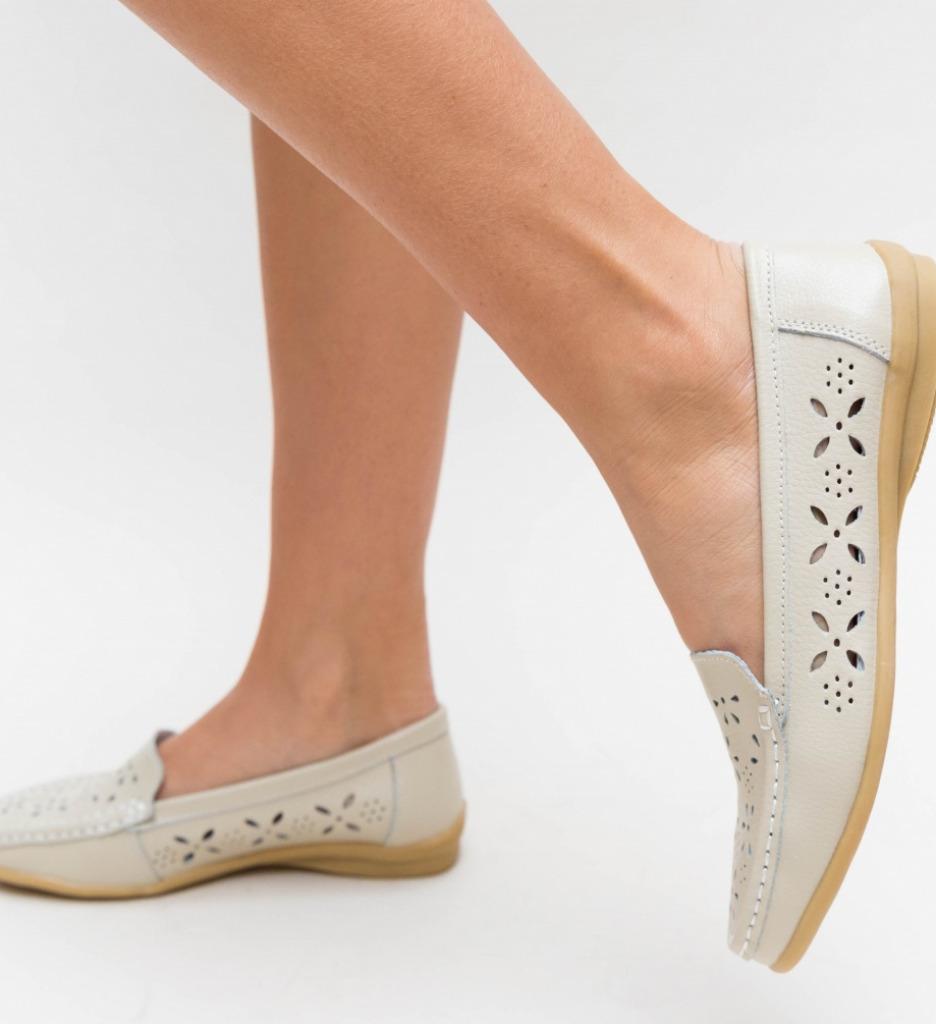 Pantofi Casual Debar Bej