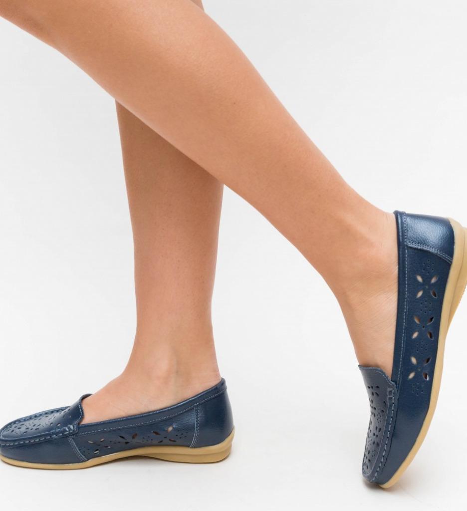 Pantofi Casual Debar Bleu