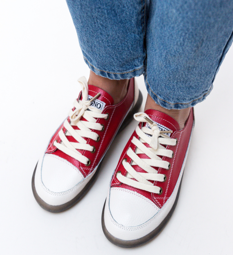Pantofi Casual Digrio Rosii
